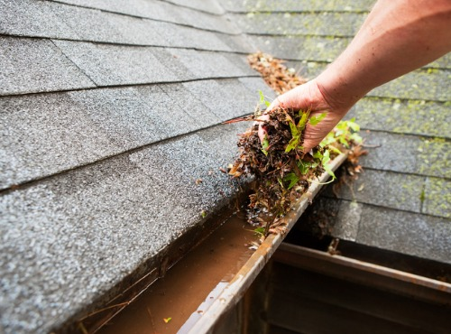Gutter Cleaning from One of the Best Roofing Companies near Champaign IL
